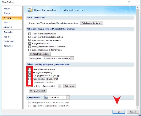 hướng dẫn sửa lỗi word bị dính chữ 2007